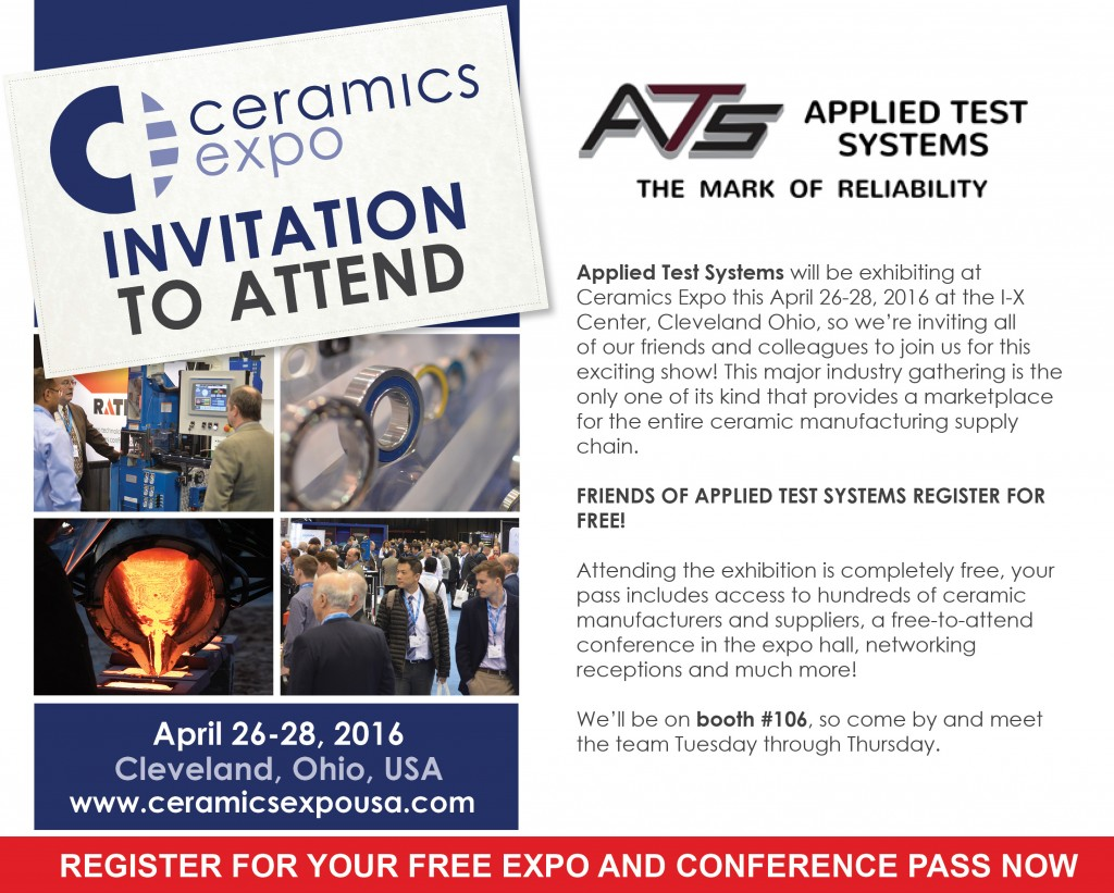 Trade Shows Archives Applied Test Systems